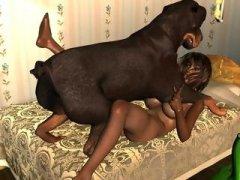 Animal Sex - Hot animal dicks providing pleasure for taboo girls ...